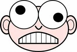Crazy Nerd Clip Art at Clker com - vector clip art online  royalty      Crazy Face Clip Art