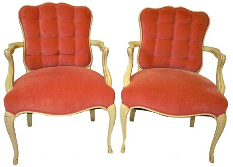 Vintage Pair Of Country French Style Decorative Arm Chairs