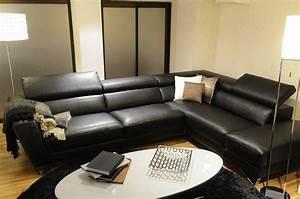 canape d39angle 301225cm itaca de nicoletti peninsule With tapis d entrée avec canape cuir center relax