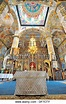 Inside the Russian Orthodox Church building in the center ...