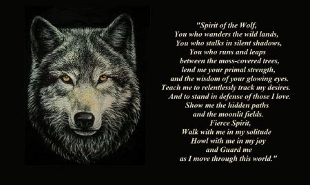 Black Wolf Quotes Wallpaper by Only Words Other Animals Background Wallpapers On