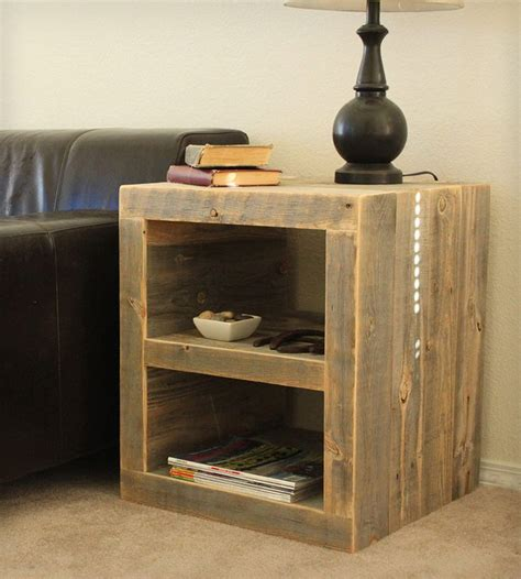 pallet night stands ideas   pinterest diy furniture plans wood projects rustic