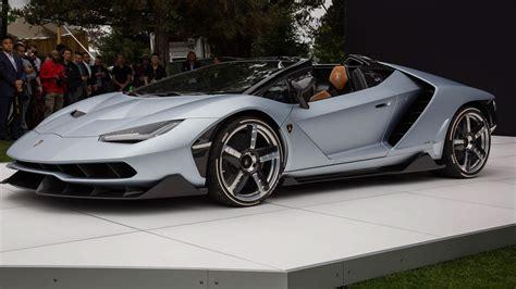 lamborghini centenario roadster debuted