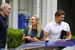 Greg Page meets with cricketer Shane Watson and wife Lee ...