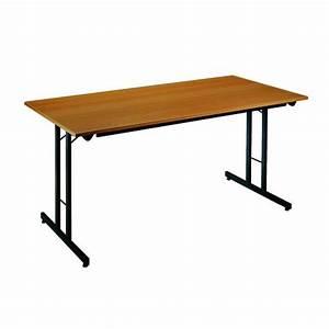 Pied De Table Pliant : table pieds pliants 120 x 80 cm maxiburo ~ Teatrodelosmanantiales.com Idées de Décoration