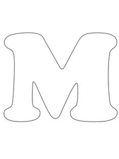 imprimir letra m para recortar colorear letters numbers colorear letras y pintar
