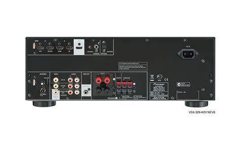 Vsx329  Av Receivers  Products  Pioneer Home Audio Visual