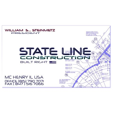 illinois of state phone number state line construction contractors 50 cahill rd