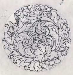 Hand Engraving Scroll Patterns