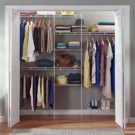 closetmaid closet organizer kit  shoe shelf