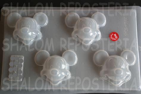 molde mediano  gelatinas gomitas caras mickey mouse  en mercado libre