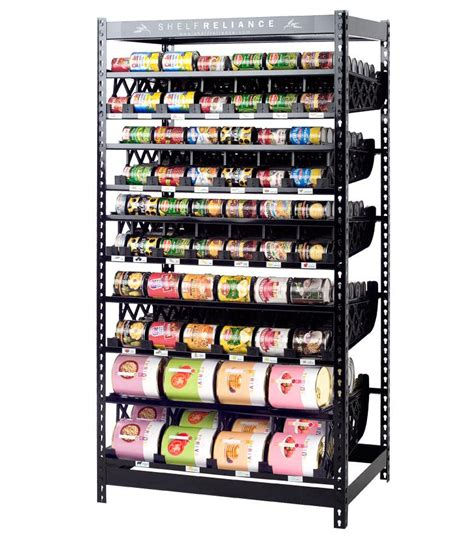 Food Pantry Rack by Shelf Reliance Black Friday Deal Up To 55