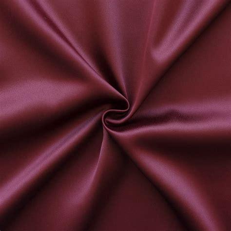 stretch satin stoff 2 farbe weinrot