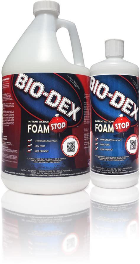foam stop bio dex laboratories llc