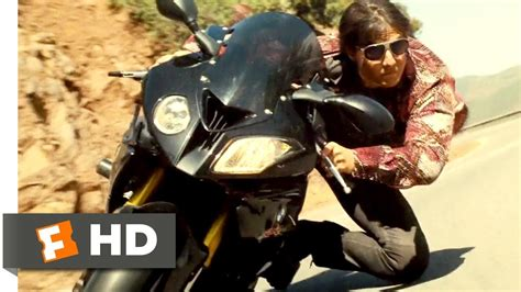 impossible motorcycle mission chase rogue scene nation mountain