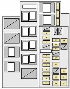 Toyota Rav4  Xa30  2005 - 2008  - Fuse Box Diagram