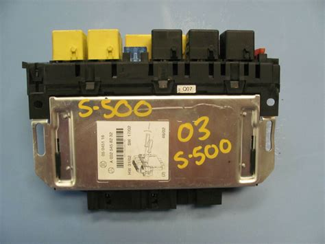 Mercede S430 Fuse Box by Mercedes W220 S430 S500 Fuse Relay Box 0325458232