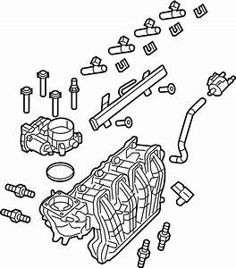 Gmc Savana 3500 Engine Intake Manifold  2018