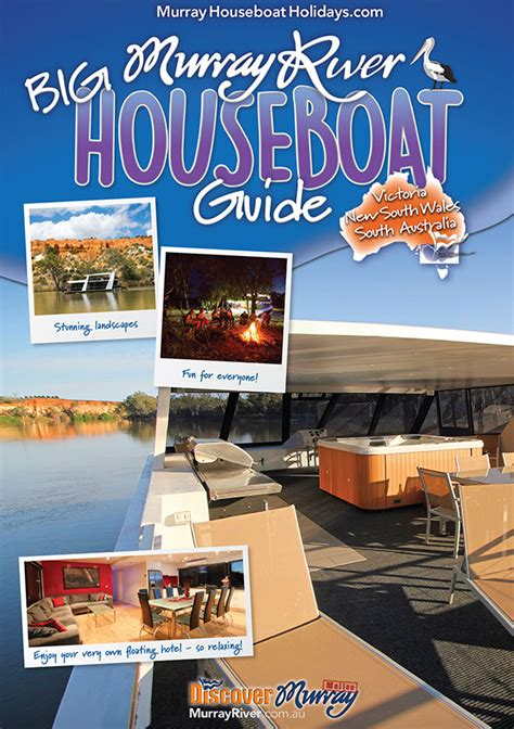 Houseboat On Murray River by Big Murray River Houseboat Guide