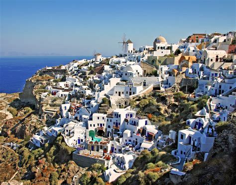 Santorini Greece Beautiful Places To Visit