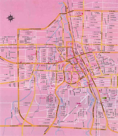 takjub indonesia peta kota medan