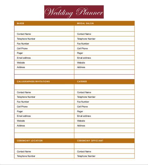 wedding planners templates emmamcintyrephotographycom