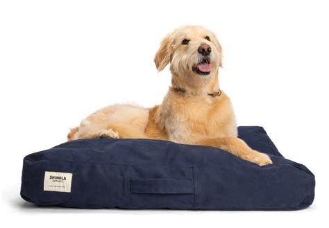 charitybuzz shinola and filson package dog bed rolling