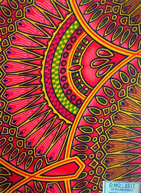 African-print