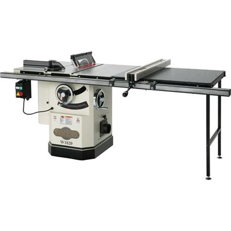 delta cabinet saw for sale shop fox w1820 cabinet saw with riving knife 10 quot