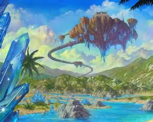 Anime Sky Landscape