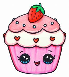 Cupcake   Art/Drawings   Pinterest   Kawaii, Drawings and ...