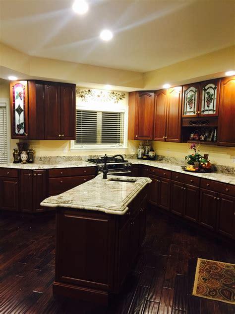 installing granite  cabinet refacing