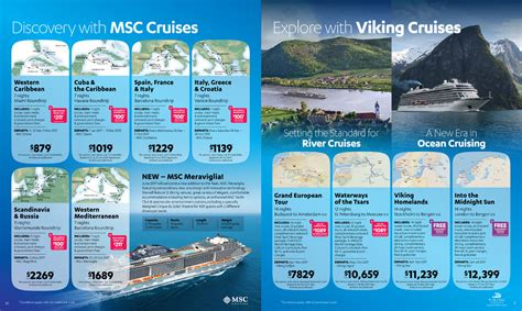 Cruise Brochure Template by October Cruise Month Sound Travels
