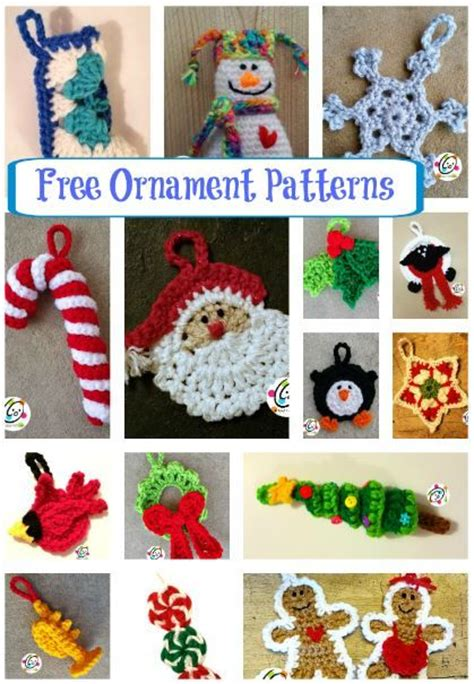 191 best images about free crochet christmas patterns on