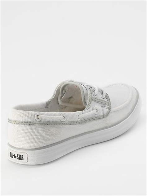 Converse Boat Shoes by Converse Converse Unisex Chuck It Sail Boat Shoes In Beige
