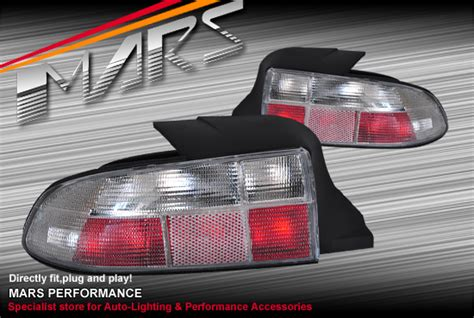 Crystal Clear Tail Lights For Bmw Z3 E367 9603 Mars