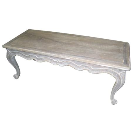 white washed table ls whimsical white washed coffee table at 1stdibs