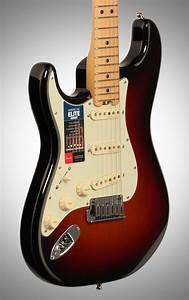 Fender American Elite Stratocaster Electric Guitar  Left