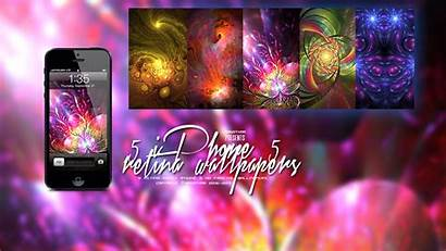 Iphone Fractal Retina Pack Wallpapers Deviantart