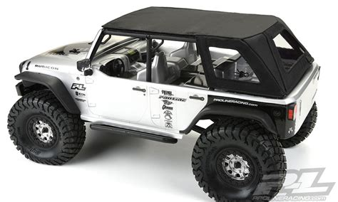 jeep wrangler unlimited soft top timberline soft top for axial scx10 jeep wrangler