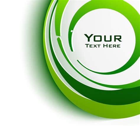 diseño flyer verde circulo template c 237 rculo verde gr 225 ficos baixar vetores gr 225 tis