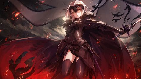 jeanne alter fategrand order  animewallpaper