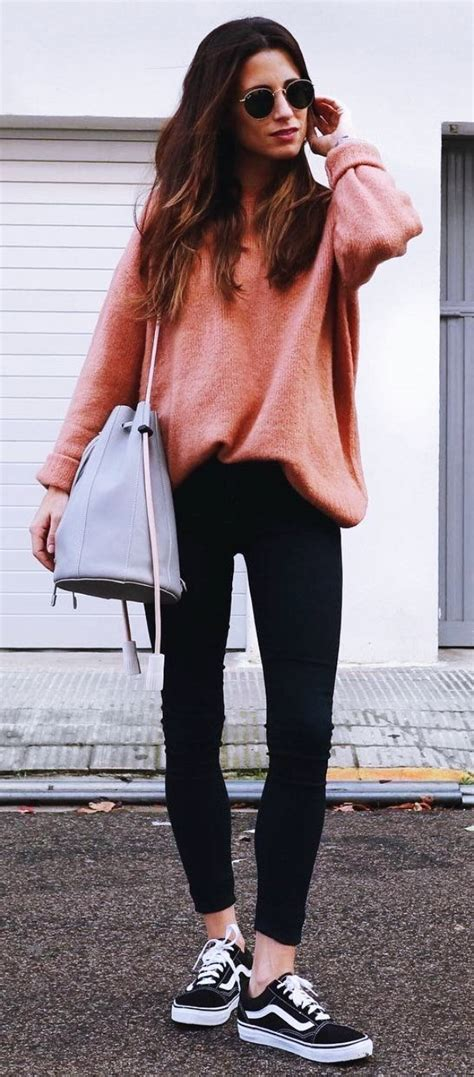 40 Cute Winter Outfits With Sneakers 2018 Fashiondioxide