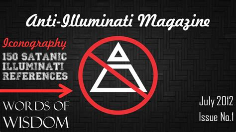 Anti Illuminati Symbol by Anti Illuminati Signs