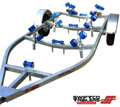 Boat Trailer Parts Rollers by Swiftco 4 Metre Boat Trailer Roller Type