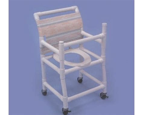 healthline gated pvc with deluxe elongated seat shower chair