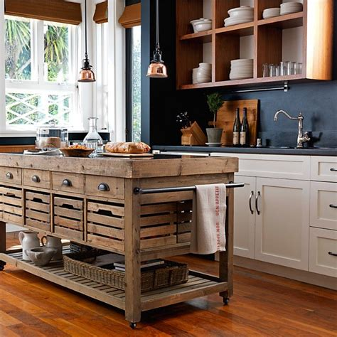 Fancy  Stone Top Kitchen Island