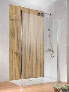 Panneau Stratifié Douche : quel rev tement ou panneau d coratif dans la douche nos ~ Zukunftsfamilie.com Idées de Décoration