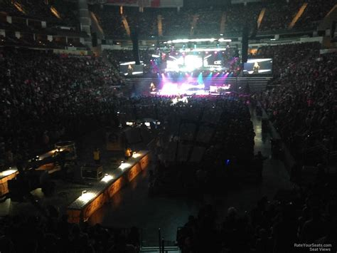 Toyota Center Section 112 Concert Seating