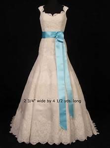 tiffany blue ball gown beaded wedding dress weddbook With tiffany blue wedding dress sash